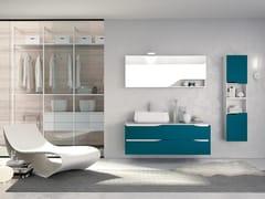Mobile lavabo sospeso con specchioSWING 18 - BMT