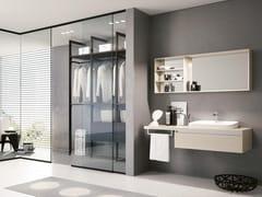 Mobile lavabo sospeso con specchioSWING 25 - BMT