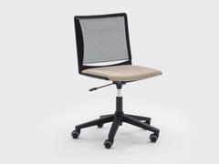 Sedia ufficio ad altezza regolabile girevole in tessutoWINNER | Sedia ufficio girevole - VIGANÒ & C.
