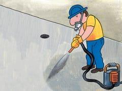 Sistema elastomerico in poliurea per pavimenti carrabili SYNTECH POLIUREA SPRAY - FL - SYNTECH