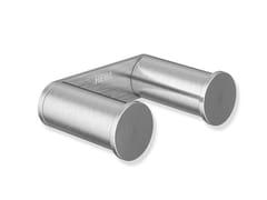 Porta accappatoio doppio in acciaio inoxSYSTEM 162 | Porta accappatoio doppio - HEWI HEINRICH WILKE