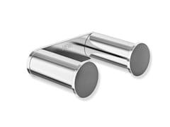 Porta accappatoio doppio in acciaio cromatoSYSTEM 162 | Porta accappatoio in metallo - HEWI HEINRICH WILKE