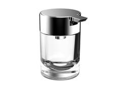 Dispenser sapone da pareteSYSTEM2   Dispenser sapone in vetro - EMCO BAD