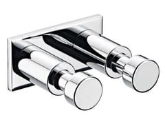 Porta accappatoio doppioSYSTEM2   Porta accappatoio in metallo - EMCO BAD