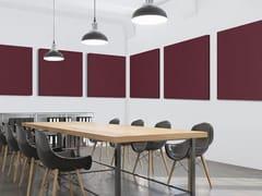 Pannello decorativo acustico in fibra di poliestere T-FRAME | Pannello decorativo acustico - TAILOR MADE