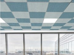 Slalom, T-LIGHT FALSE CEILING Pannelli per controsoffitto fonoassorbente