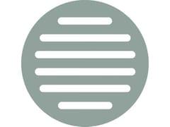 Wondair, T115 Griglia di ventilazione rotonda a filo muro