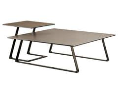 Tavolino in metallo da salottoT140B T141B T142B T143B - GAMMA ARREDAMENTI INTERNATIONAL