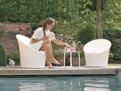 Garden armchairs