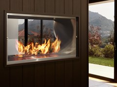 Premium Double Sided Fireplaces