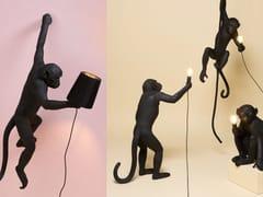 The Monkey Lamp Black