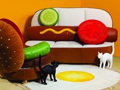 Hot Dog Sofa & Burger Chair