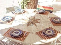 Tavolo rotondo in pietraTavolo in pietra 1 - GARDEN HOUSE LAZZERINI