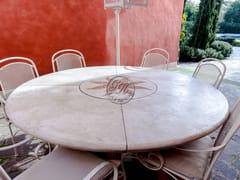 Tavolo rotondo in pietraTavolo in pietra 2 - GARDEN HOUSE LAZZERINI