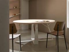 Tavolo rotondo in legnoOGGETTI DELLA FORESTA | Tavolo - BOFFETTO
