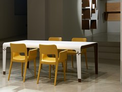 Tavolo rettangolare in Solid SurfaceHEART | Tavolo - BOFFETTO