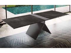 Tavolo rettangolare in gres porcellanatoMETROPOLITAN | Tavolo - BOFFETTO