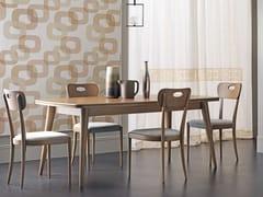Tavolo allungabile da pranzo rettangolare in legnoAMARCORD DAY | Tavolo - CANTIERO