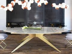 Tavolo ovale in marmoDEAN | Tavolo - GABRIEL SCOTT
