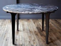 Tavolo rotondo in marmoPRONG | Tavolo - GABRIEL SCOTT