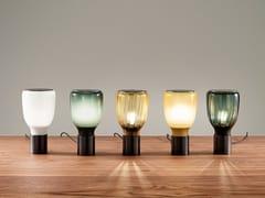 Lampada da tavolo in vetro soffiatoACQUERELLI | Lampada da tavolo - BONALDO