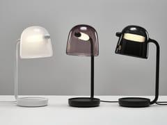 Lampada da tavolo a LED in vetro soffiato con dimmerMONA | Lampada da tavolo - BROKIS