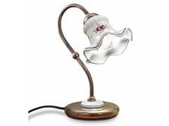 Lampada da comodino in ceramica con braccio fissoCHIETI | Lampada da tavolo - FERROLUCE