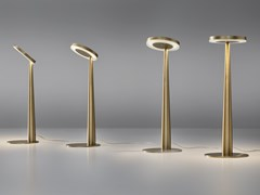Lampada da tavolo a LED orientabile in alluminio pressofusoBELLA | Lampada da tavolo - PANZERI