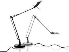 Lampada da tavolo a LED orientabile in alluminioBERENICE | Lampada da tavolo - LUCEPLAN