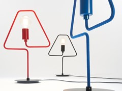 Lampada da tavolo a luce diretta in metalloA-SHADE | Lampada da tavolo - ZAVA