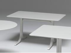 Tavolo pieghevole rettangolare in acciaioTABLE SYSTEM | Tavolo rettangolare - EMU GROUP