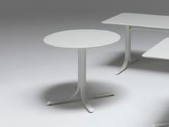 Tavolo pieghevole rotondo in acciaioTABLE SYSTEM | Tavolo rotondo - EMU GROUP