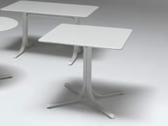 Tavolo pieghevole quadrato in acciaioTABLE SYSTEM | Tavolo quadrato - EMU GROUP