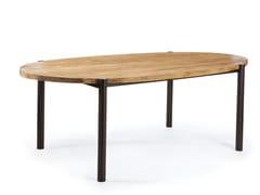 Tavolo da giardino da pranzo ovale in legnoMEMPHIS | Tavolo - VERMOBIL