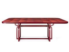 Tavolo da pranzo rettangolare in legnoCARYLLON | Tavolo - WIENER GTV DESIGN