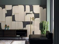 Pannello decorativo in multistrato di betullaTABLEAU - INKIOSTRO BIANCO