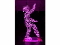 Scultura luminosa in plexiglassTAI CHI 2014 - MIRABILI