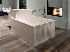 Vasca da bagno centro stanza in Cristalplant®TALAMO4 - ANTONIO LUPI DESIGN®