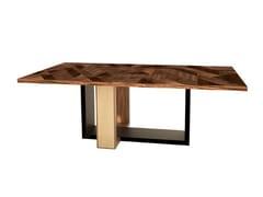 Tavolo da pranzo rettangolare in legnoTANGRAM - ANA ROQUE INTERIORS