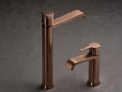 Miscelatore per lavabo da piano monocomandoTAORMINA BRUSHED ROSE GOLD - RUBINETTERIE RITMONIO