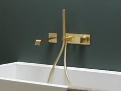 Set vasca a muro con doccetta TAORMINA   Set vasca a muro - Taormina