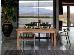 Tavolo allungabile da pranzo in legno masselloTARA - DEVINA NAIS