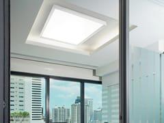 Lampada da parete / lampada da soffitto in alluminio e vetroTARA MEGA - LINEA LIGHT GROUP
