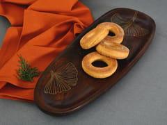 Vassoio ovale in legnoTARKASHI | Vassoio - ORVI DESIGN STUDIO