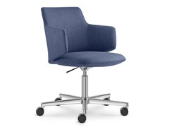 Sedia ufficio operativa in tessuto a 5 razze MELODY MEETING | Sedia ufficio operativa - Melody Meeting