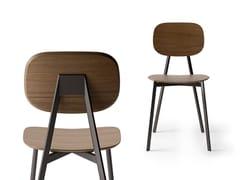 Sedia in legno con schienale aperto TATA | Sedia in legno - Tata