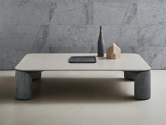 Tavolino rettangolare in marmoTAULA | Tavolino rettangolare - SALVATORI