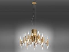 Lampadario a LED in ferroTHE LIGHT 5150/30 - ALMA LIGHT