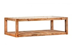 Tavolino rettangolare in legno masselloTEA TIME | Tavolino rettangolare - ARREDIORG