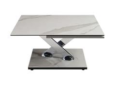 Tavolino quadrato in ceramicaTEA TIME - ROCHE BOBOIS